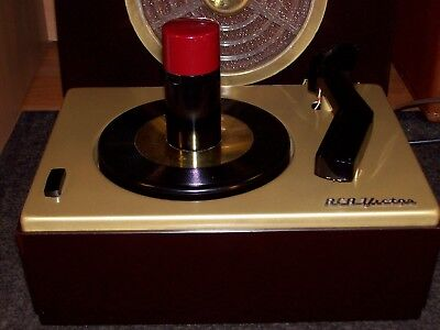 Rca Victor J-2 45 Rpm Record Player Changer Turntable Phonograph - Restored 1952