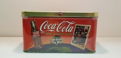 Coca Cola Coke Around the World Tin Metal Cards