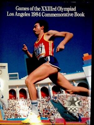 GAMES OF THE 23rd OLYMPIAD LOS ANGELES 1984 COMMEMORATIVE BOOK 23rd OLYMPIC EUC