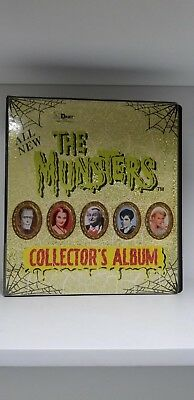 Munsters Series 2 Trading Card Binder Album Manufactured by Dart Flipcards
