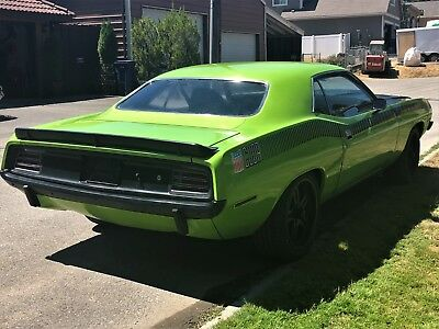1970 Plymouth Barracuda  1970 AAR 340  CUDA RECREATION  5 SPEED TREMEC MANUAL