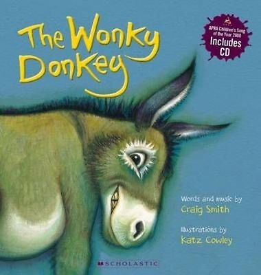 The Wonky Donkey by Craig Smith (Paperback, 2009) WITH CD NEW  SCOTTISH GRANNY
