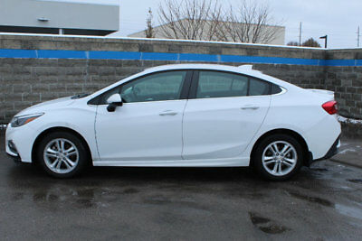 2017 Chevrolet CRUZE 4dr Sedan Automatic LT 4dr Sedan Automatic LT Automatic Gasoline 1.4L 4 Cyl SUMMIT WHITE