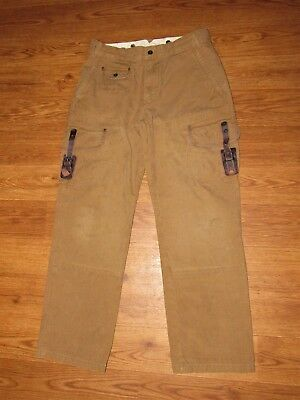Vintage - Hard to Find - POLO RALPH LAUREN Hunting Cargo Pants Mens GI Cut 32 30