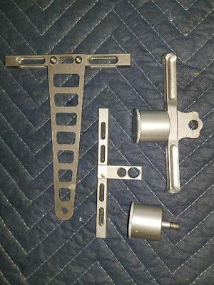 Gas boat Parts T-Bar with Oiler And IV Mount