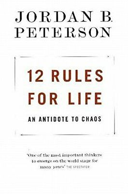 12 Rules for Life Paperback last day sale