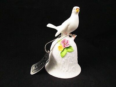 Vintage TOWLE Fine Bone China White Dove Bell