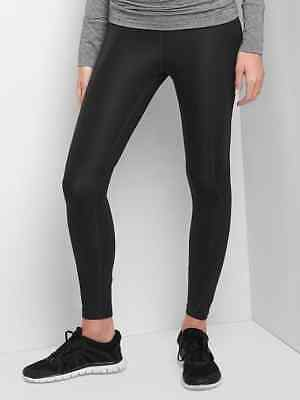 Gap Maternity GapFit Sculpt gFast Full Panel Leggings Black ~ NWT ~ Size Small S