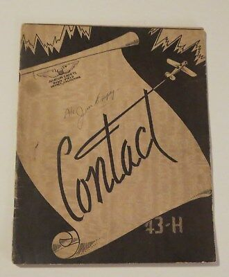 1943 Army Air Force Ryan Field Hemet Calif SIGNED by MANY pilots!