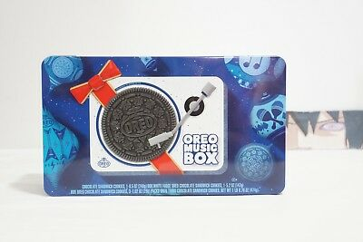 Oreo Music Box Cookie Record Player Collectible Holiday Tin - IN HAND