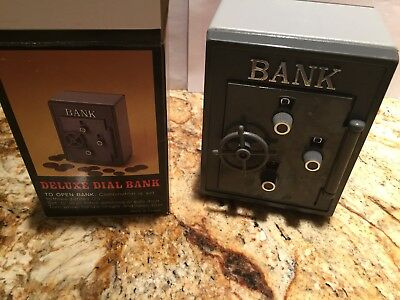Kids Piggy Bank ~ Safe Deluxe Dial Bank  (Perfect Accessary) Gift