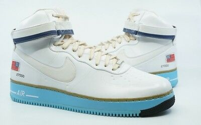 Nike Air Force One High New Size 15 Presidential Obama White Blue 573752 100 23c1f6e80
