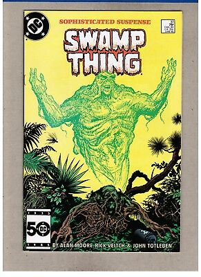 NOT CGC (DC) SWAMP THING #37 VF/NM 9.0 1ST HELLBLAZER John Constantine