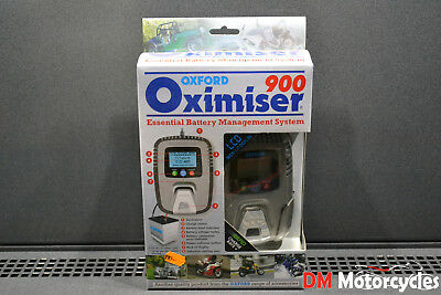 Brand New Oxford Oximiser 900 Motorcycle Charger Battery Tender