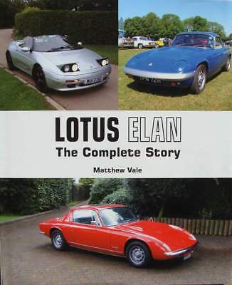 LIVRE/BOOK : Lotus Elan - The Complete Story (plus 2,26r,competition,M100