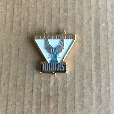 Blackburn Hawks Pin Badge 1990's