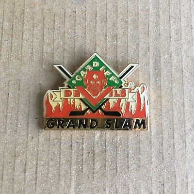 Cardiff Devils Grand Slam Pin Badge 1990's