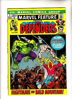 Marvel Feature 2 2nd app of Defenders