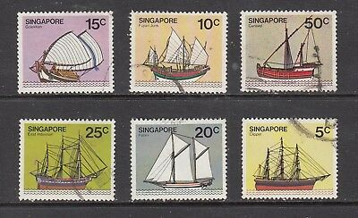 SINGAPORE SHIP STAMPS USED.Rfno.B236.
