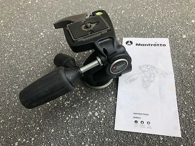 Manfrotto 804RC2 Pan Tilt 3 Way Tripod Head Including 200PL Tripod Plate