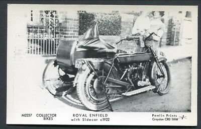 Pamlin  --  A Royal Enfield With Sidecar C1922