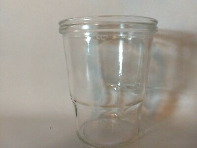 Coffee Catch Cup Glass Jar fits Vintage Arcade Wall Mount Grinders