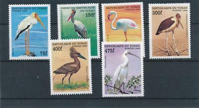 [132018] Chad Birds good set of stamps very fine MNH