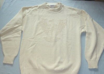 Eagle Scout Sweater, Official Boy Scouts BSA Small mens NWOT NEW, 1980s Shirt S
