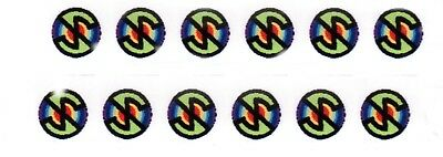 Dinky Captain Scarlet MSV 12 Green Decal Transfers..