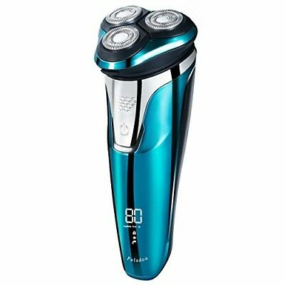 Electric Rotary Razor Shavers for Men, Portable USB Rechargeable Beard Trimmer .