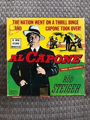 8mm Home movies Al Capone Staring Rod Steiger