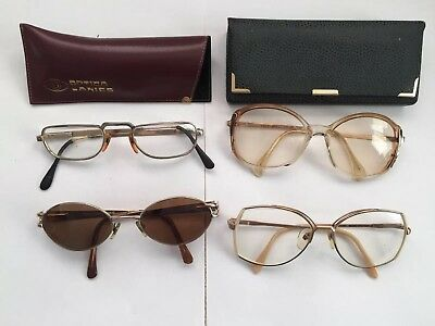 4 X Pairs Of Vintage Spectacles
