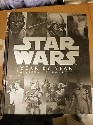 Star Wars Year by Year A Visual Chronicle with 2 rare prints