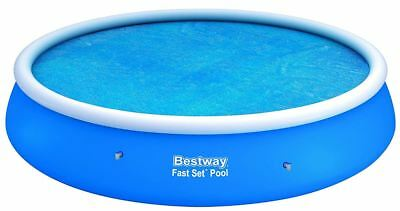 SOLAR POOL COVER FOR THE 15FT BESTWAY FAST SET MODEL - check sizing in details