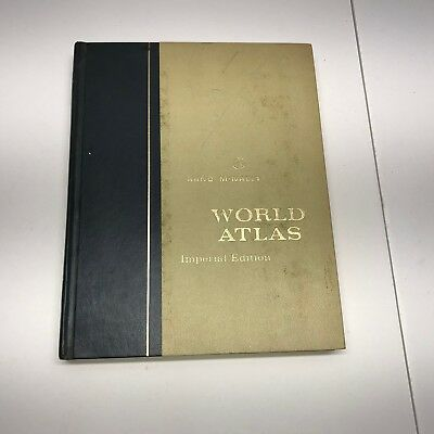 9A RAND McNALLY WORLD ATLAS, Imperial Edition,1967