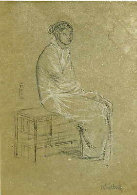 After James Abbott McNeill Whistler - Original lithograph signed The Studio 1905