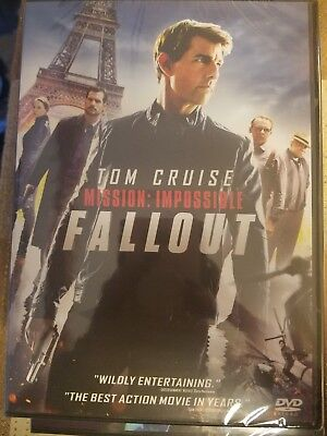 Mission:Impossible Fallout (2018, DVD) FREE SHIPPING IN THE U.S.A.