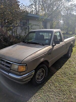 1993 Ford Ranger  1993 Ford Ranger, Beige color