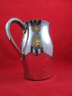 Vintage WM ROGERS Paul Revere Reproductions Silverplate Water Pitcher