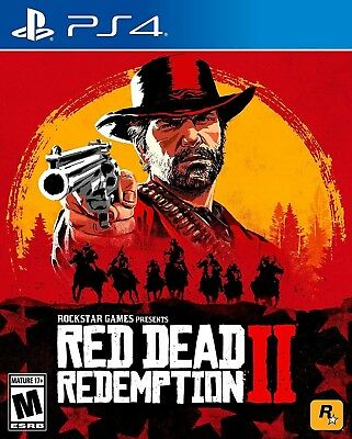 Red Dead Redemption 2 Mint Condition PlayStation 4 PS4 Free Shipping