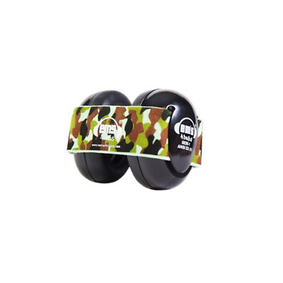 Em's 4 Bubs Hearing Protection Baby Earmuffs Black/Camo Headband Free S/H