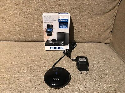 Audio Bluetooth Hi-Fi PHILIPS AEA2000 / HiFi-Adapter schwarz