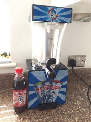Slush Puppie Machine for Home use - Ice Slushy Puppy Frozen Drink inc NEW SYRUP