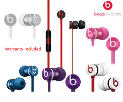 Genuine Beats by Dr Dre URBEATS -second generation In Ear Headphones Earphones