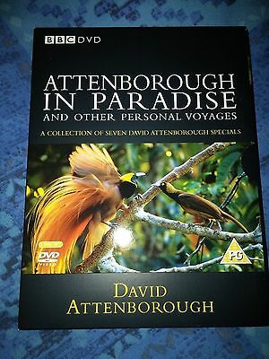 DAVID ATTENBOROUGH IN PARADISE and Other Personal Voyages (7 Documentaries) DVDs