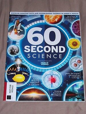 How It Works Magazine - 60 Second Science - 146 Page Special Magazine - New
