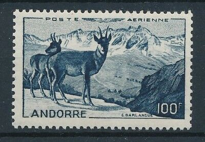 [33196] Andorra Fr. 1950 Fauna Good airmail stamp Very Fine MNH Value $125