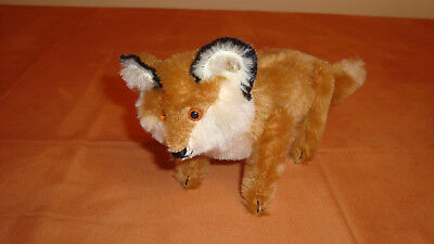 Steiff Fuchs Replica 1910(Museums Collection)mit Knopf,12 cm