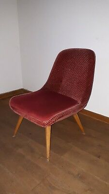 Mid Century 60er Jahre Cocktail Sessel Clubsessel Stuhl Design 60s