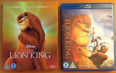 THE LION KING (Blu-ray) + O-Ring SLIPCOVER. Disney
